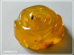 прозрачное мыло с маслом облепихи