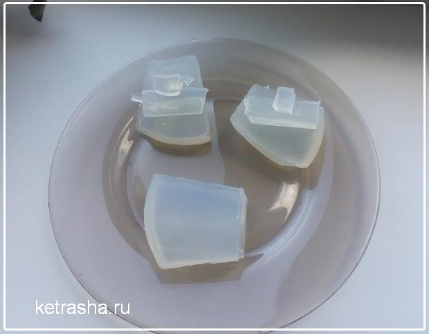 мыло из мыльной основы