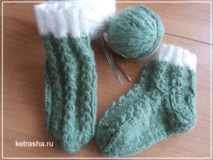 узоры для носков